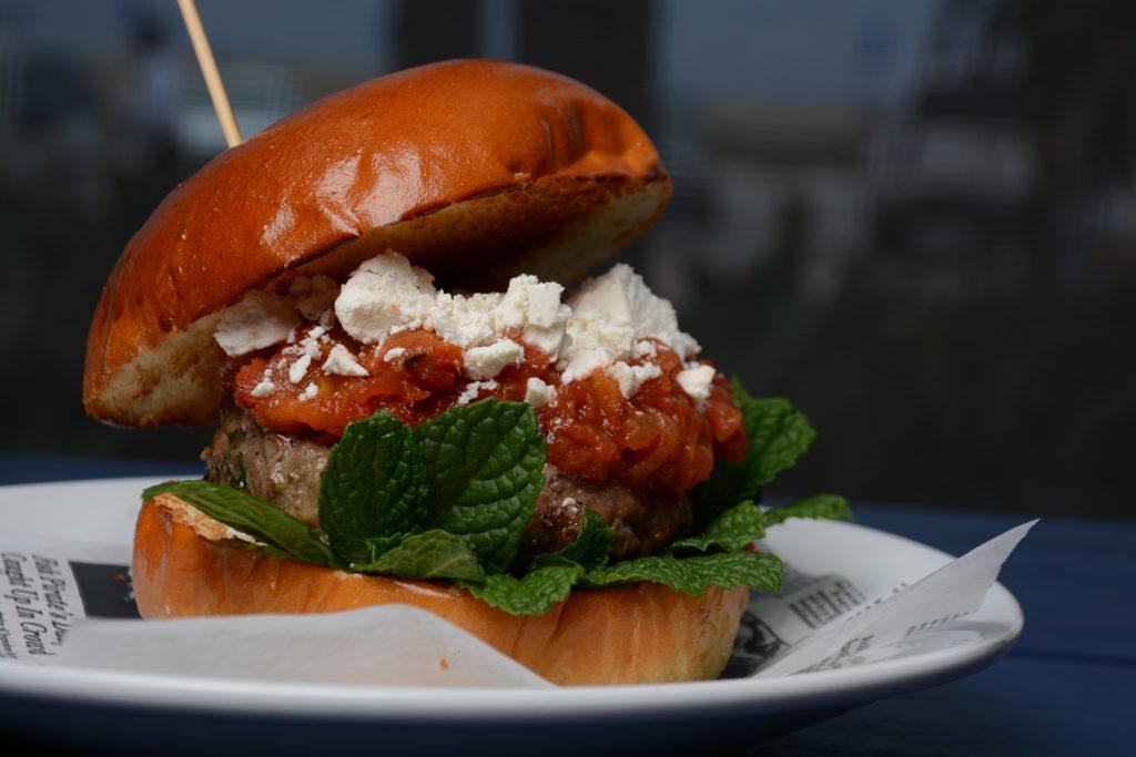 Venice Whaler Lamb Burger