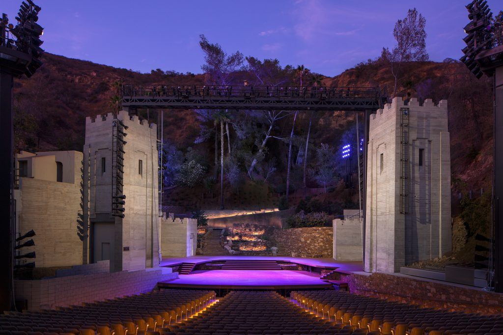 19. Ampitheatre Stage at Night TomBonner