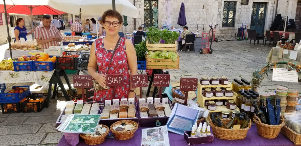 Dubrovnik Fresh Lavender in the Market