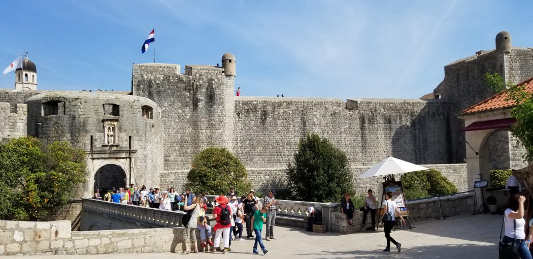 Dubrovnik Wall to the Old City Center