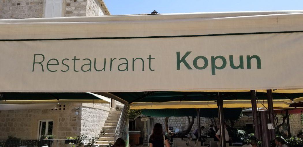 Dubrovvnik Food Story Restaurant Kopun 1