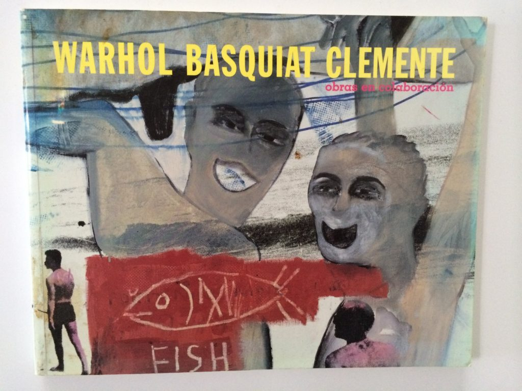andy warhol jean michel basquiat clemente art book painting 1