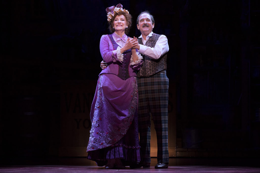 5 Betty Buckley and Lewis J. Stadlen in Hello Dolly National Tour 2018 Julieta Cervantes