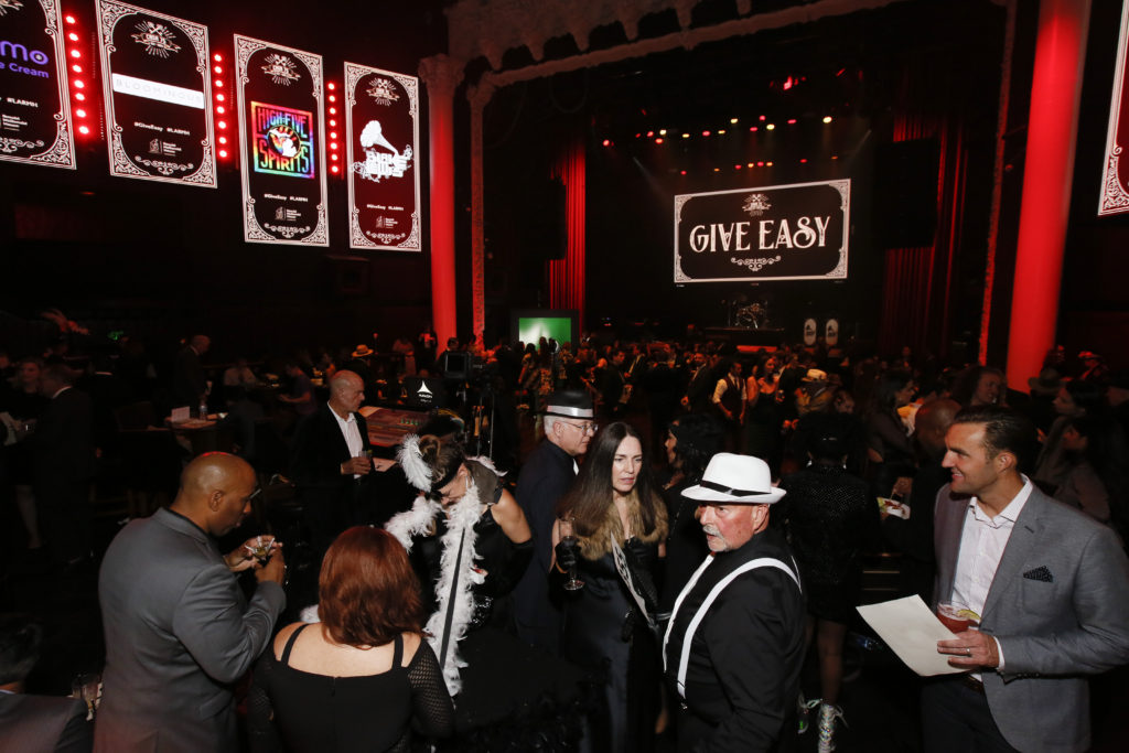 Guests enjoy Give Easy Photo by Ryan MillerCapture Imaging