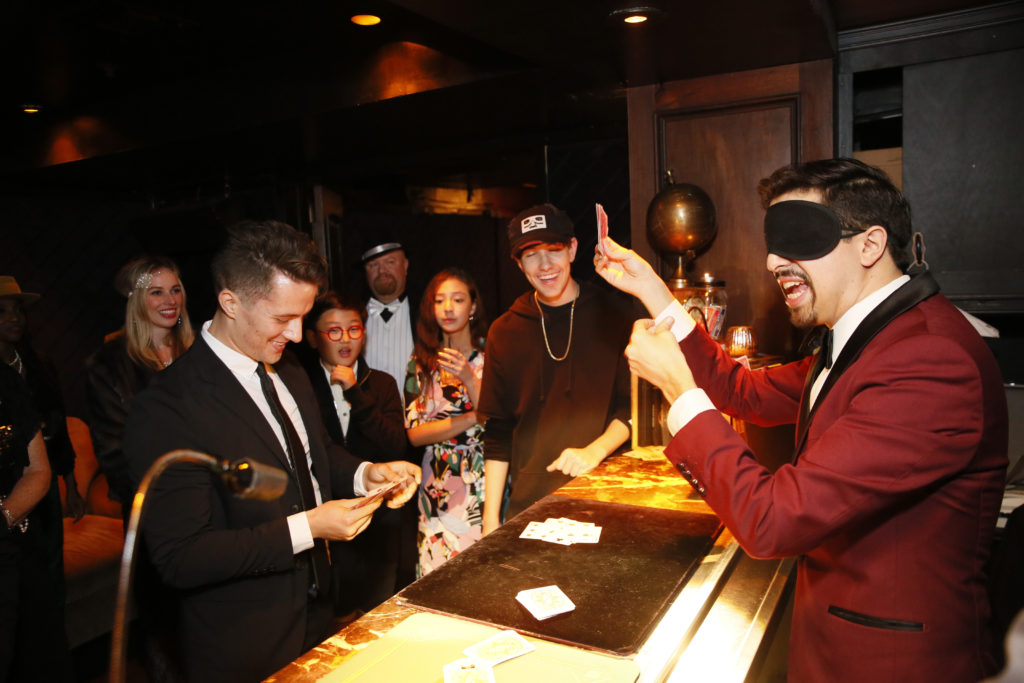 Guests enjoy Magic Bar Photo by Ryan MillerCapture Imaging