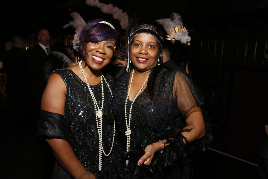 Guests enjoy the Casa 75 speakeasy theme RMHLA Give Easy Photo by Ryan MillerCapture Imaging