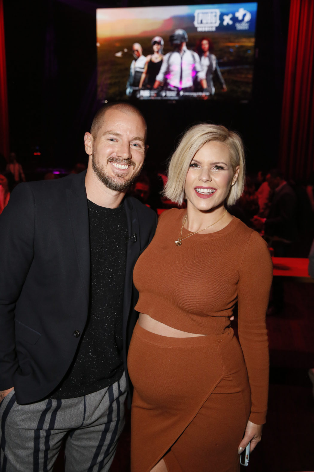 Jordan Harvey and Kimberly Caldwell Harvey support the PUBG MOBILE Fight4TheAmazon campaign Ryan Miller