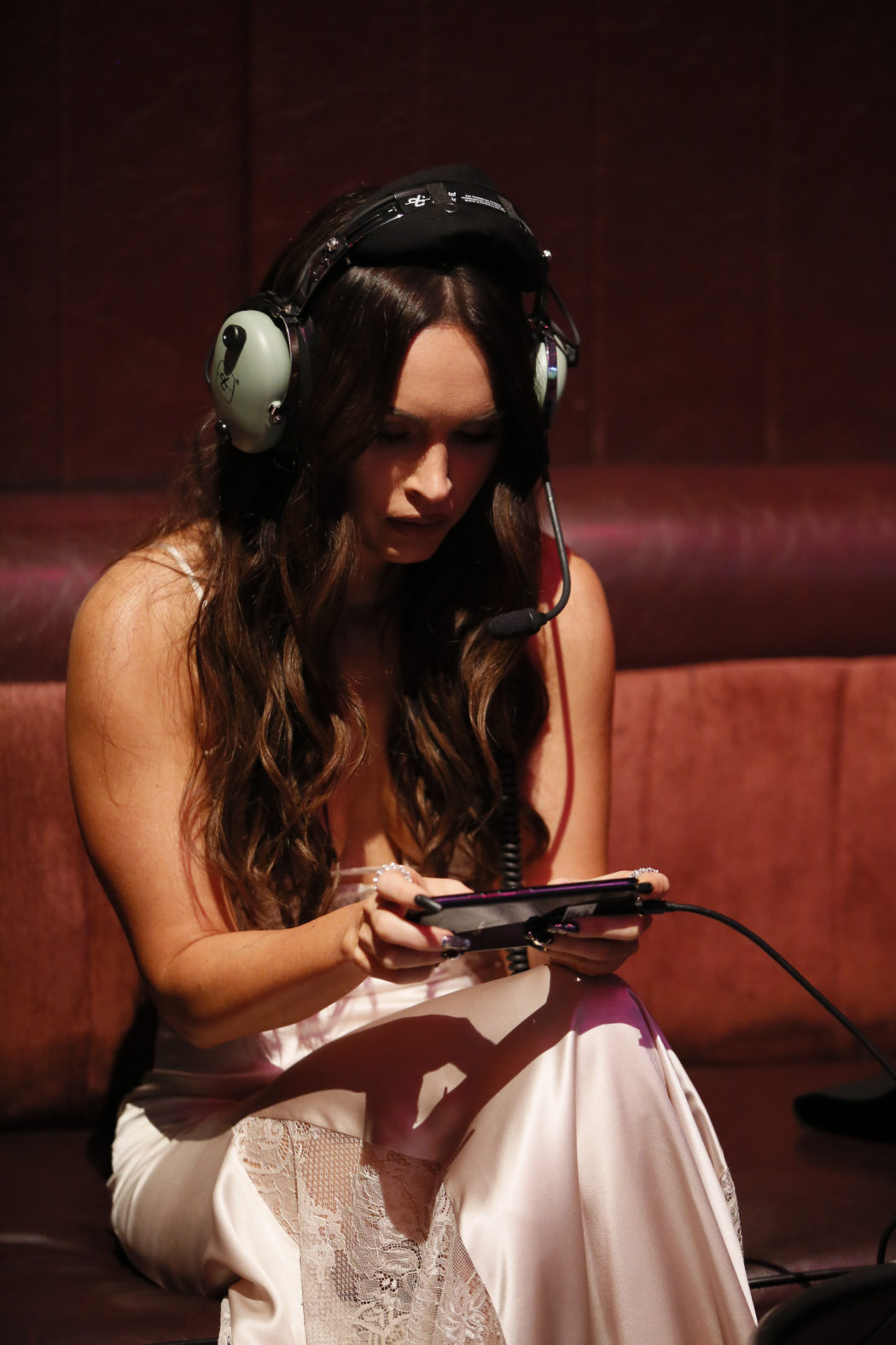 Megan Fox plays in the live PUBG MOBILE celebrity match Ryan Miller