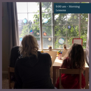 what a day of homeschool looks like for an entrepreneurial mama