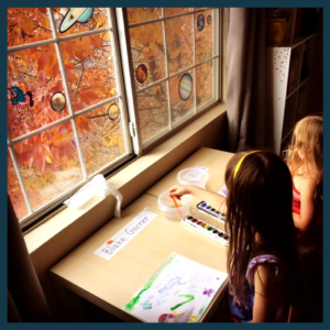 homeschooling in a small apartment