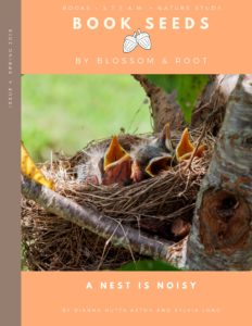 spring 2018 book seeds by blossom and root: a nest is noisy