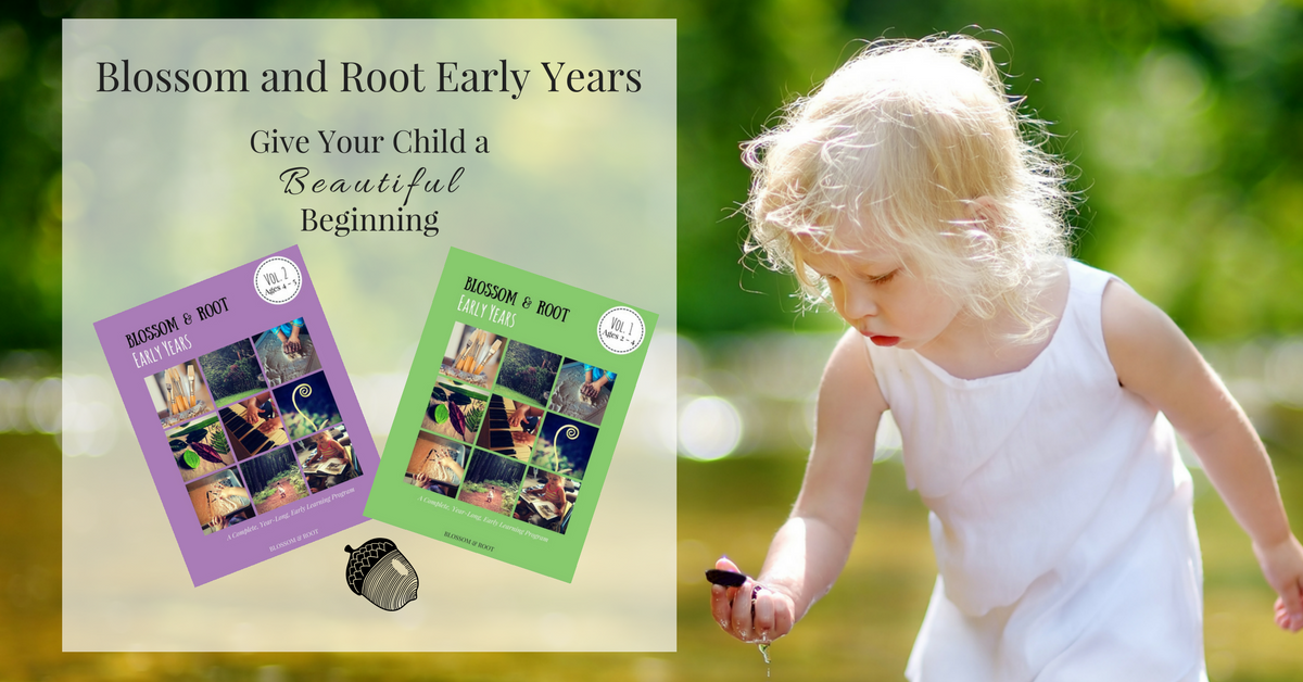 blossom and root early years