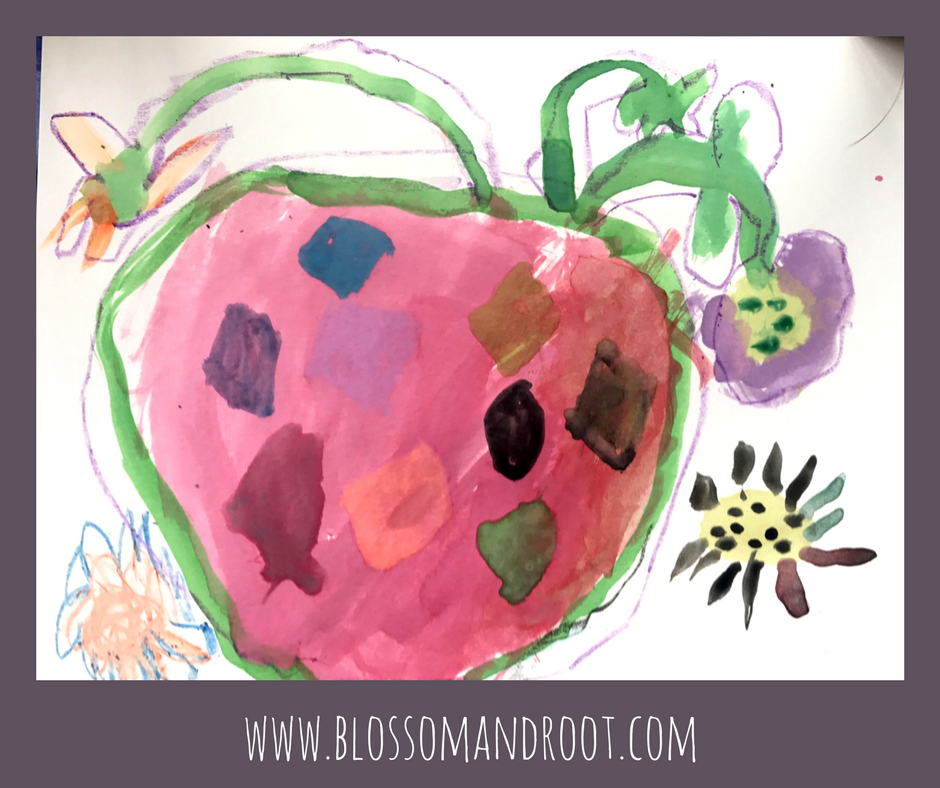 frida kahlo art activity blossom and root early years vol. 2