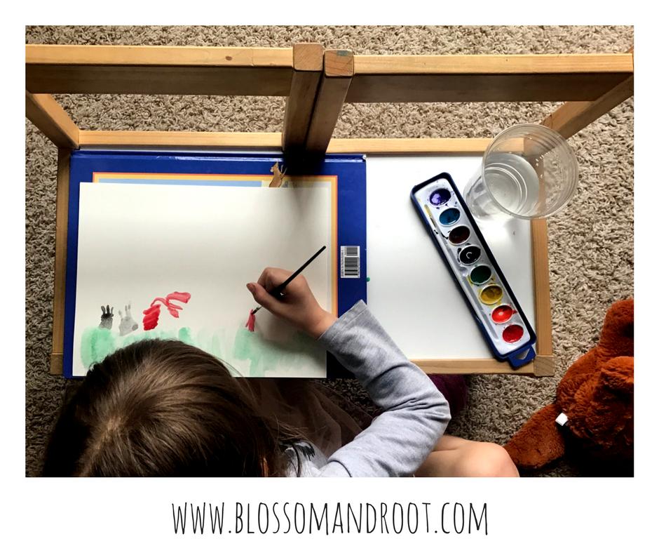 Rivera art project Blossom and Root kindergarten