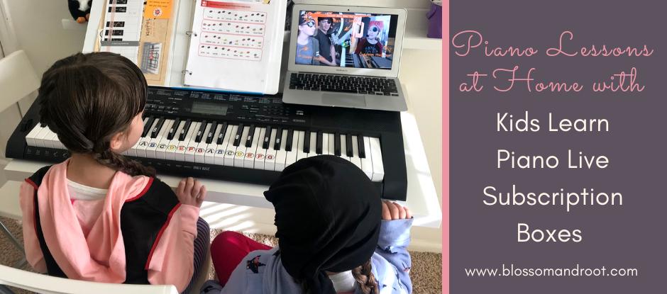 piano lessons homeschool