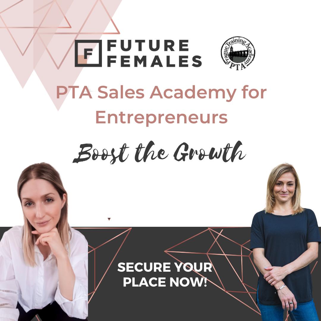 PTA Sales Academy for Entrepreneurs - Prague Chapter