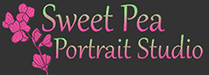 Sweet Pea Portrait Studio Logo
