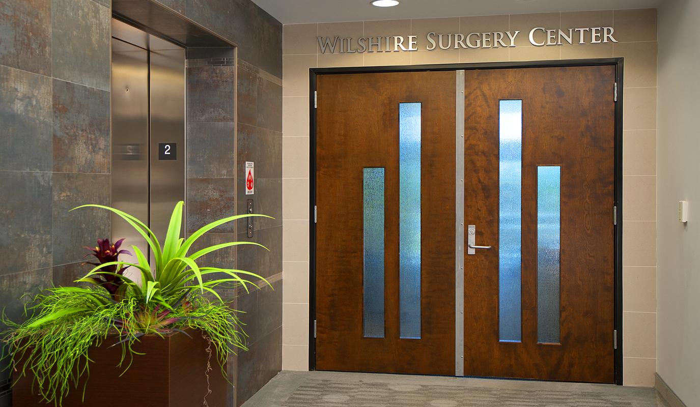 Wilshire Surgery Entrance