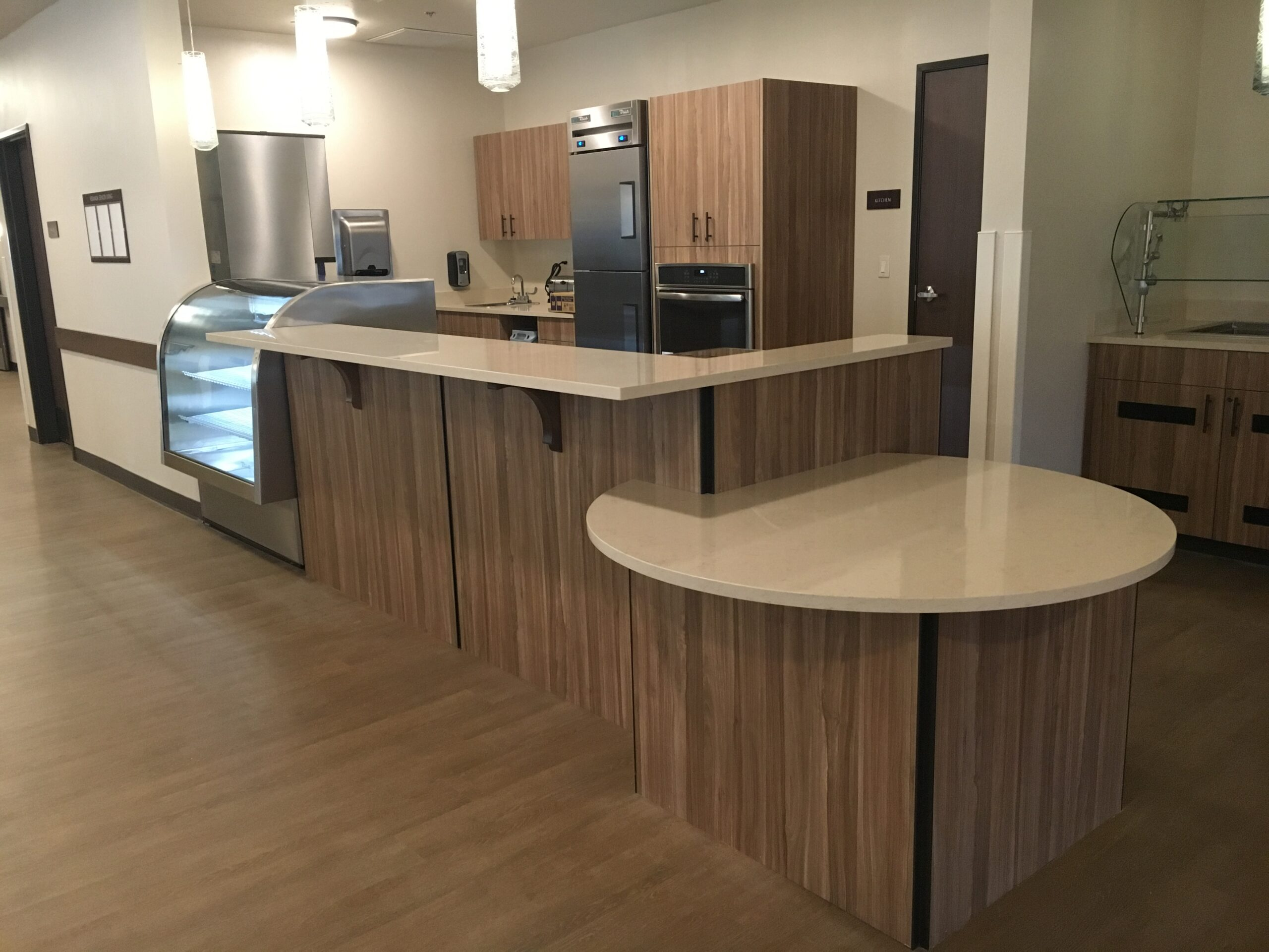 Sawtooth Concepts Hospital Kitchen