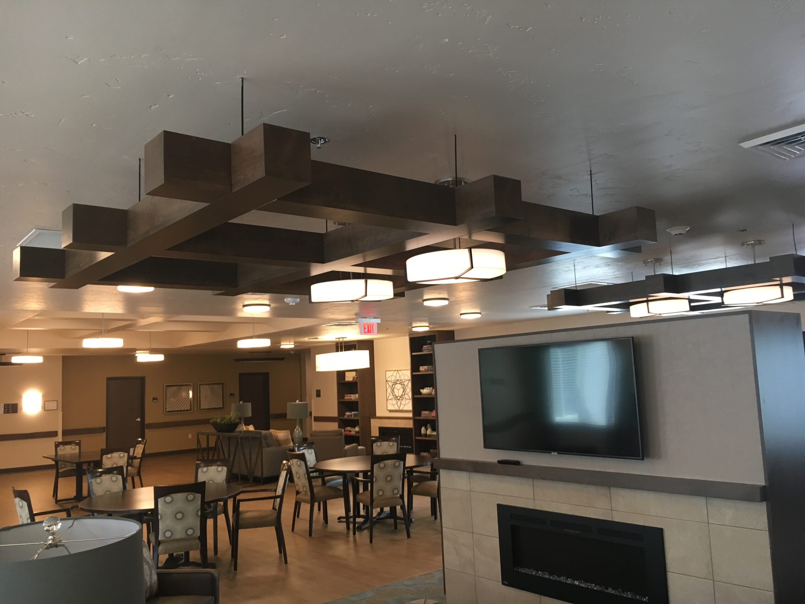 Sawtooth Concepts Ceiling Beam project