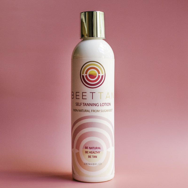 sunless tanning lotion