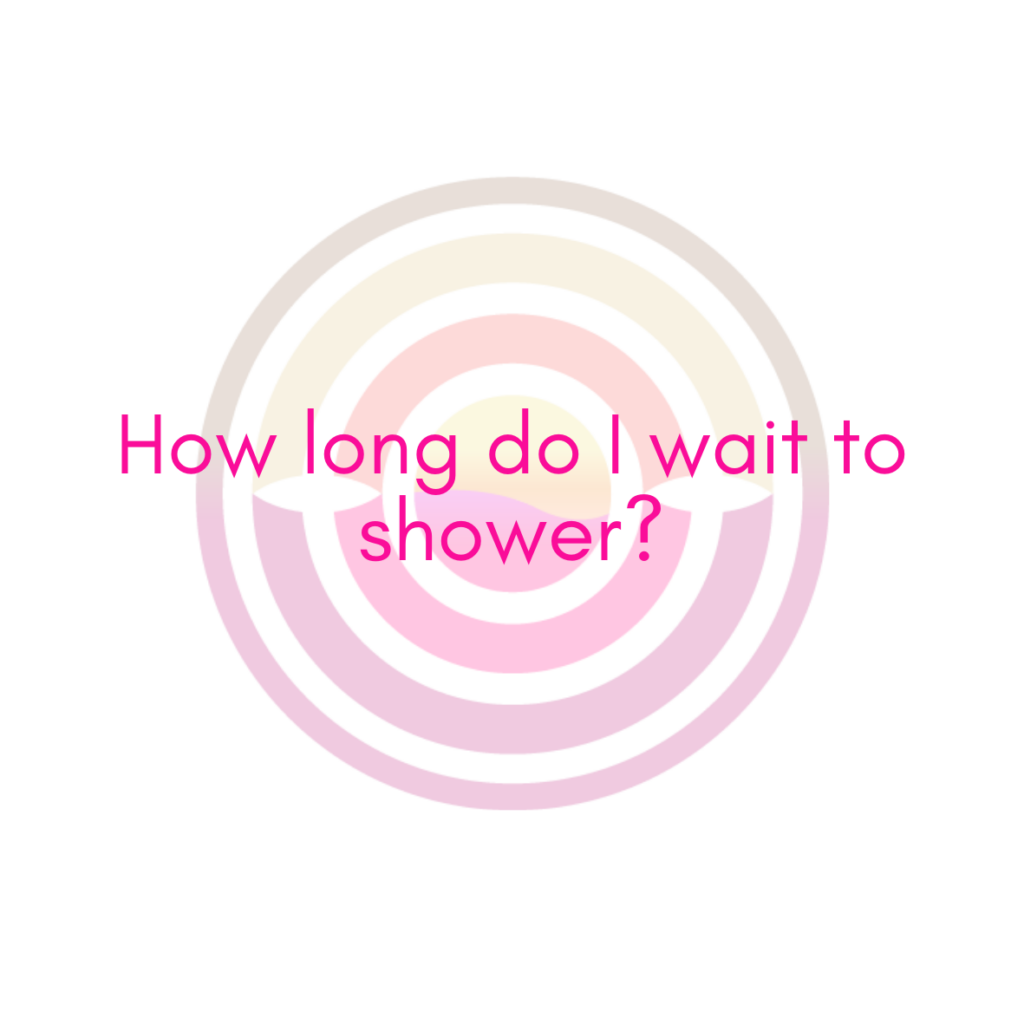 How long do I wait to shower after spray tan