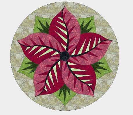 Poinsettia Kit – Christmas Colors