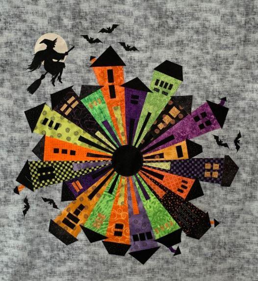 Halloween Dresden Fabric Kit