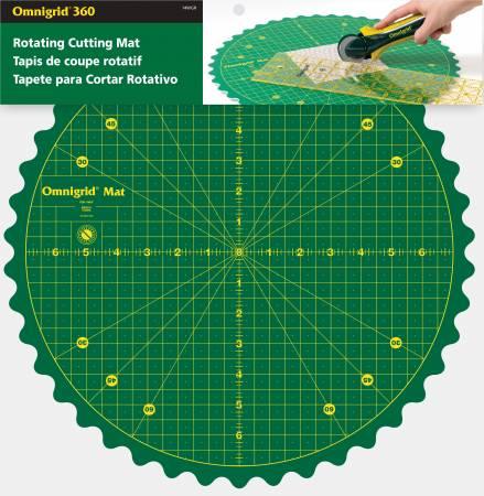 Omni Rotating 14 inch mat