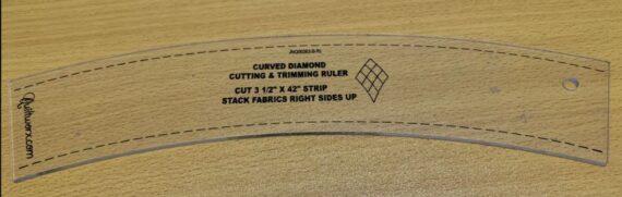 Curved Diamond Ruler 1