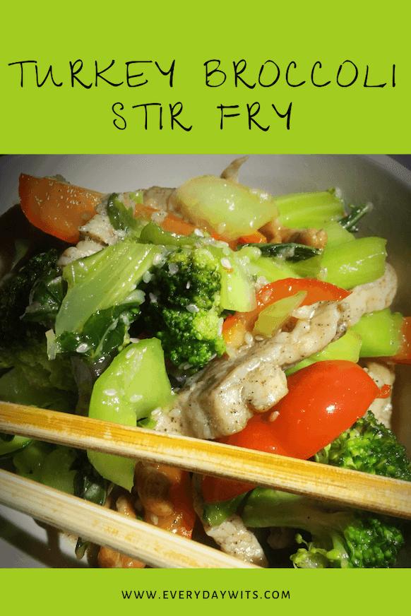 Turkey Broccoli Stir Fry