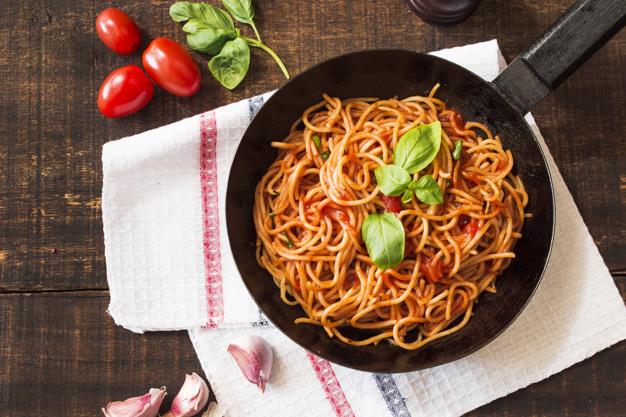 Meatless Spaghetti