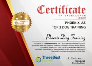Dog_Training_Phoenix_Best_Scottsdale_Phoenix_Dog_Training_Company_Award_2020