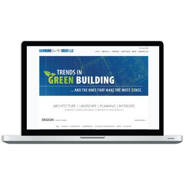 Hammond Design Group Website Design