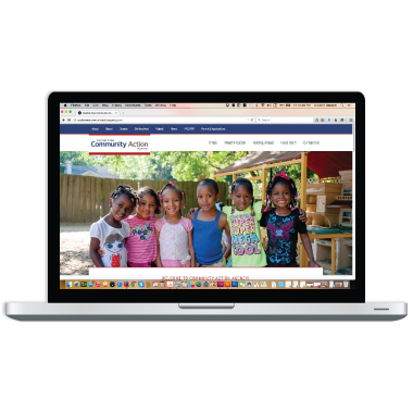 Capital Area Community Action Agency Website Design