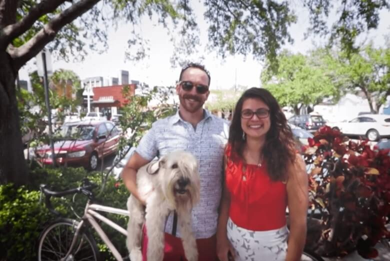 Steven and Haley's Car-Free Story