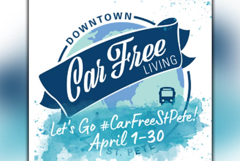 St. Petersburg drivers encouraged to go 'car free' throughout April