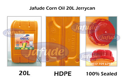 Jafude ChoicE Corn Oil 20L Jerrycan-Corn Oil Supplier and manufacturers in the Philippines