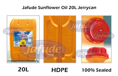 Jafude ChoicE Sunflower Oil 20L Jerrycan-Sunflower Oil Supplier and manufacturers in the Philippines