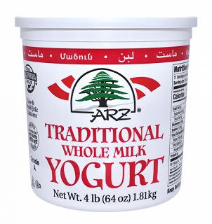Arz Plain Whole Milk Yogurt