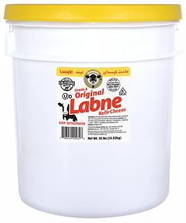Lebne (Kefir Cheese) in Pail
