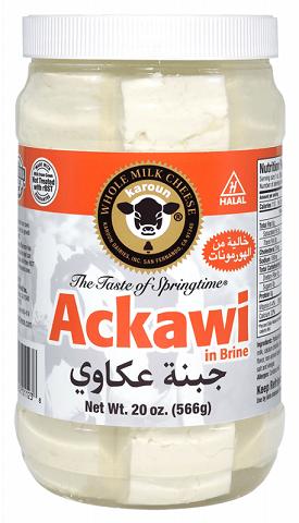 Karoun Ackawi Cheese (in Brine)