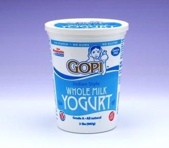 Gopi Plain Whole Milk Yogurt