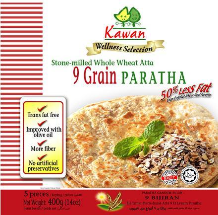 9 Grain Whole Wheat Paratha