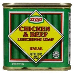 Chicken & Beef Luncheon Loaf