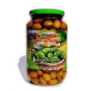 Aldayaa Green Olives w Shatta