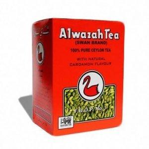 Alwazah Pure Ceylon Tea with Cardamom Flavor