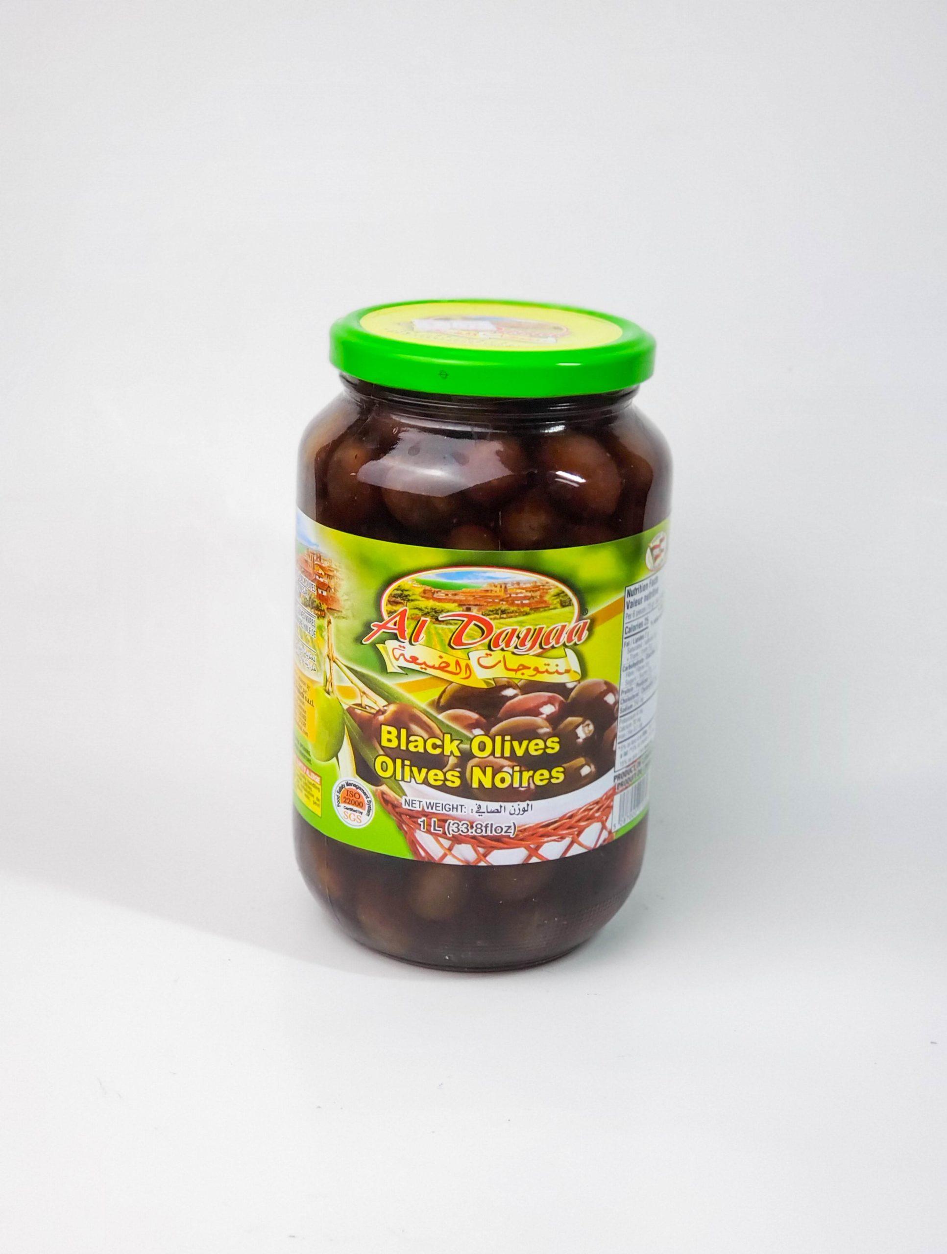 Aldayaa Black Olives