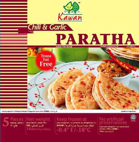 Kawan Chili Garlic Paratha