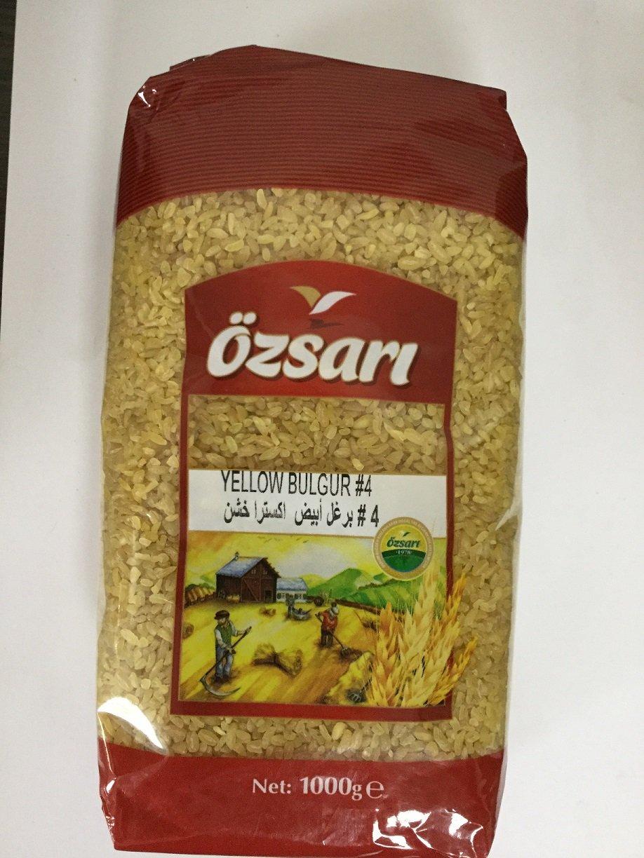 Oszari Yellow Bulgur #4